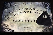 Dimensione A4 in legno Ouija Board & Planchette EVP Spirito Fantasma Hunt bizzarra Magick