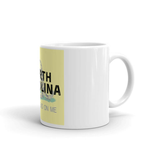 North Carolina Don't Tread on Me Background Coffee Mug