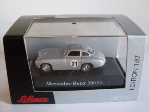 Mercedes-Benz 300 SL Prototyp #21 Art.-Nr 452618300 Schuco H0 Modell 1:87