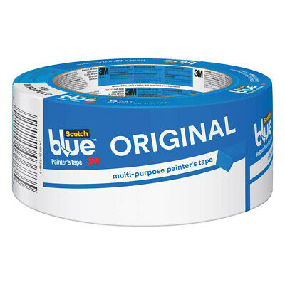 3m 2090-48 scotch blue painters masking tape 1.88 in x 60 yd