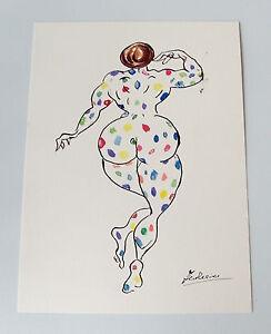 Federico-Fellini-039-La-Citta-delle-donne-039-1980-ink-and-watercolor-sketch-signed