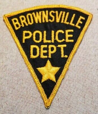 By The Sea POLICE PATCH BROWNSVILLE TEXAS TX On The Border