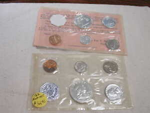 Mint Sealed in a flat cello. 1962 U S The Coins are U.S PROOF SET