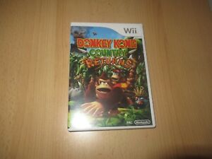 DONKEY-KONG-COUNTRY-RETURNS-Nintendo-WII-MINT-COLLECTORS-PAL-VERSION