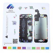 iPhone 5C Magnetic Screw Chart Mat Repair Professional Guide Pad Tools