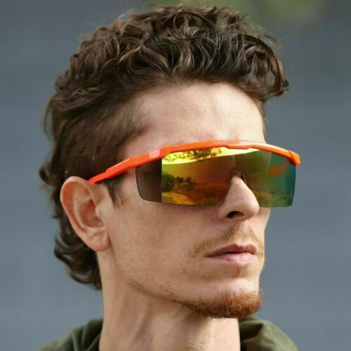 Men Women Large Frame Sport Sunglasses Outdoor Cycling Windproof Goggles New