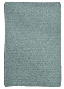 Westminster Teal Blue Braided Area Rug Runner Many Sizes Wm71 Teal Ebay
