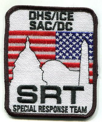 Special Respond Team SRT Skull DD KANDAHAR-WHACKER© JSOC AFGHAN MP TRAINING SSI