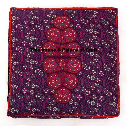 New Mandala Indian Square Floor Pillow Cover Oversized Ottoman Pouf Throw Daybed