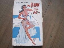 René ROQUES: une femme m'a dit...