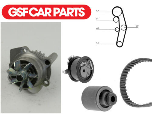 Water Pump /& Timing Cam Belt Set Engine Cooling System For Seat Arosa 1.4 TDI