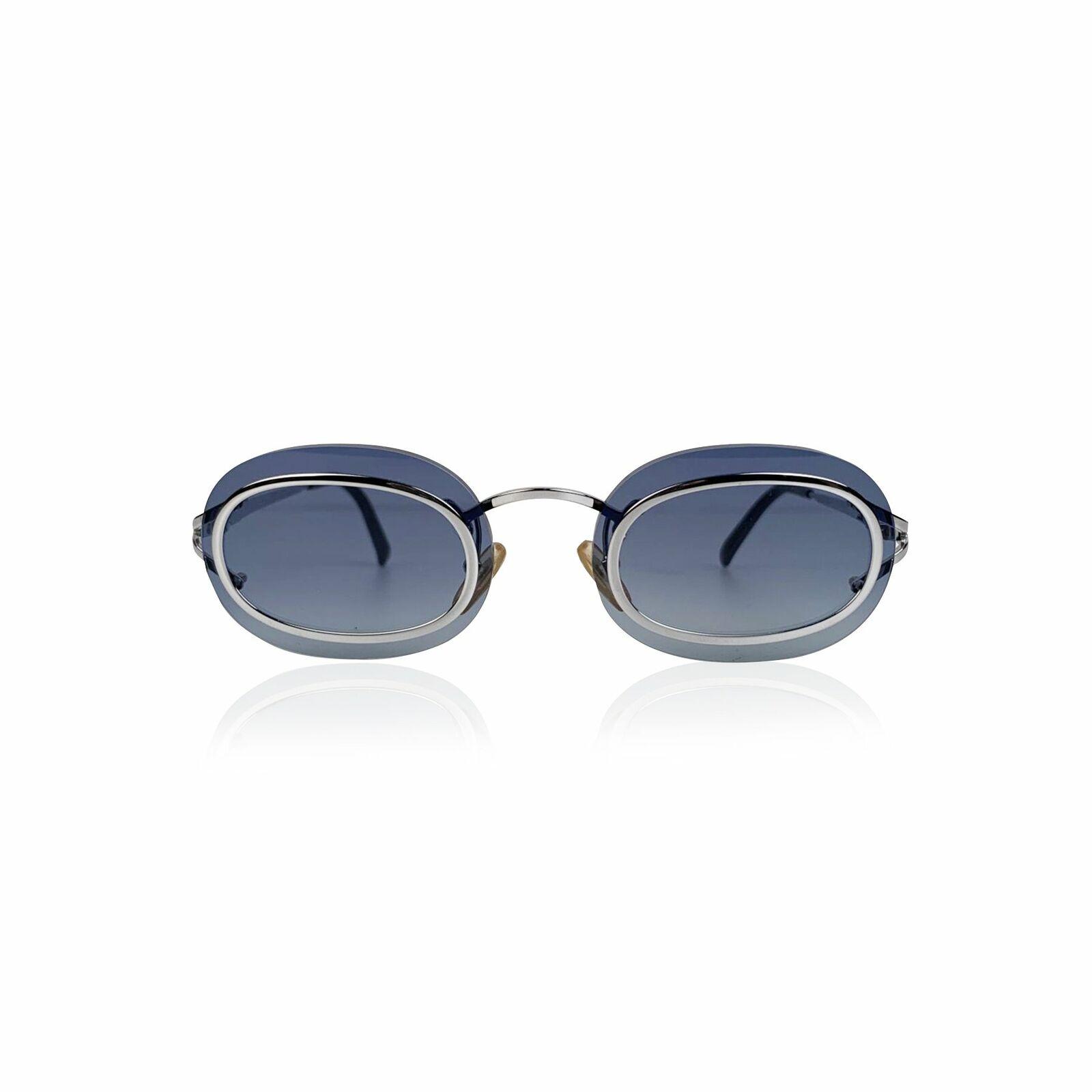 Christian Dior Sunglasses Vintage Metal Col. Blue 2970-show original title