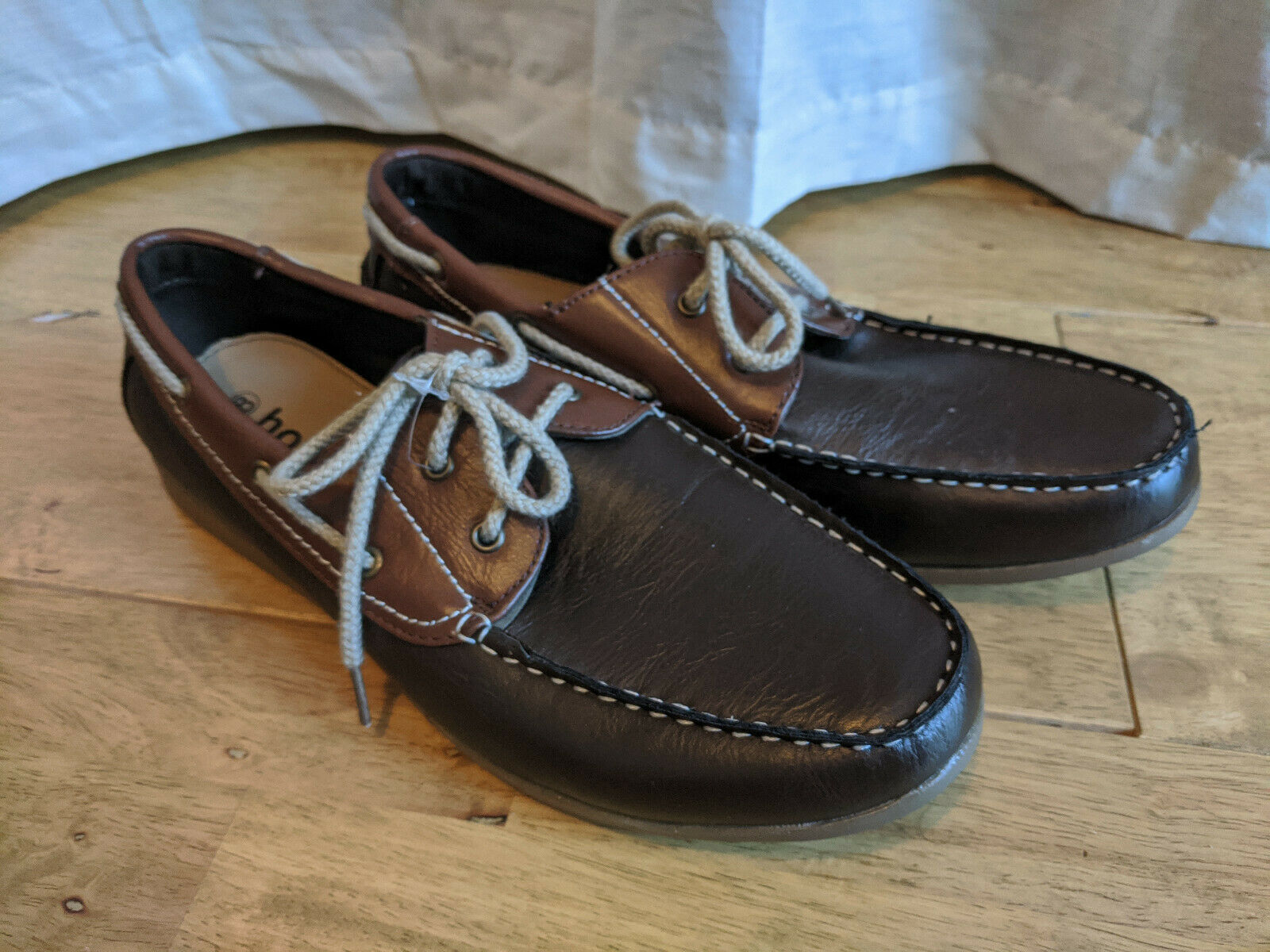 Hobos - Brown Lace up Shoes - Size 8 - NEW