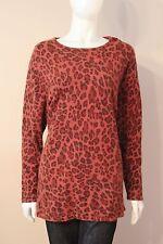 Rosanna 70% Angora Cheetah Print Sweater 3X
