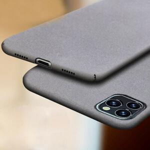Details about For Apple iPhone SE (2020) 11 Pro Shockproof Slim Sandstone Hard Back Case Cover