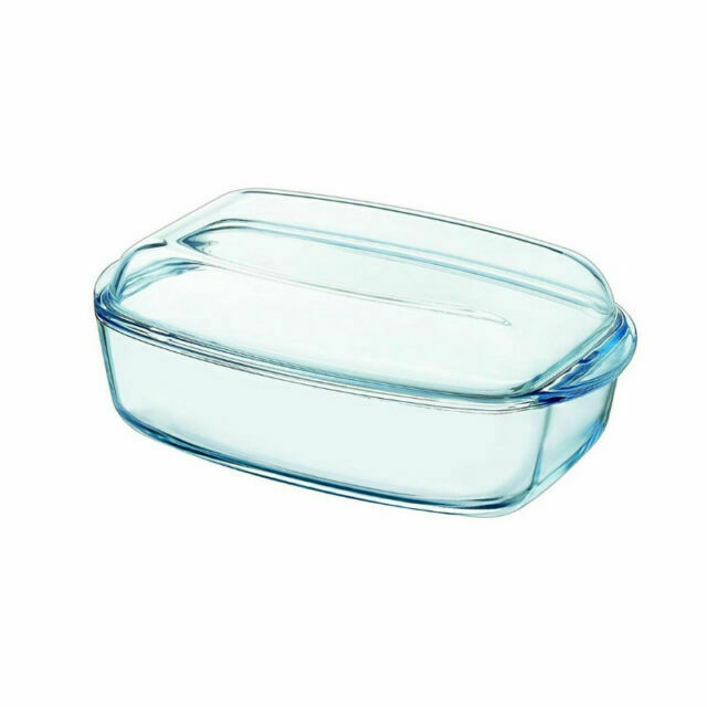 Pyrex Essentials Glass rectangular Casserole high resistance 4,3L