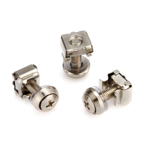 5mm Mounting Screws and Cage Nuts for Server Rack Cabinet Rack Mount Bolts M5