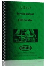 Service Manual Oliver Fde Cletrac Crawler