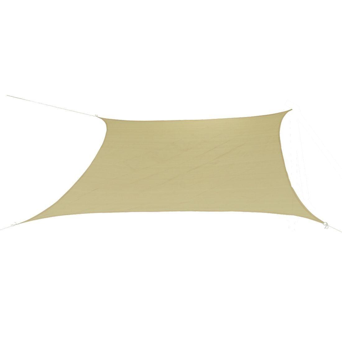 10T Patterson 360 - Telone parasole di forma quadrata, 360 cm, tessuto colore cor