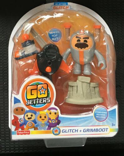 Go Jetters cliquez sur Glitch grimboot