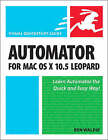 Automator for Mac OS X 10.5 Leopard: Visual QuickStart Guide by Ben Waldie (Paperback, 2007)