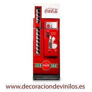 Vinilos Para Frigos.Detalles De Vinilos Para Neveras Pegatinas Frigorificos Stickers Frigo Maquina Coca Cola