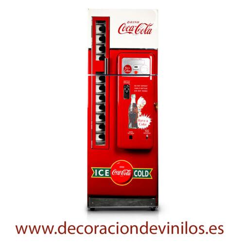 VINILOS PARA NEVERAS PEGATINAS FRIGORIFICOS stickers frigo maquina coca cola
