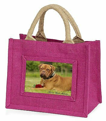 "Dog + Red Rose ""love You Mum 'bambine Small Rosa Shopping Bag, Ad-db 2 Rlymbmp-"