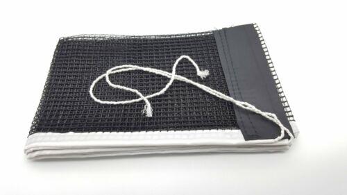 Noir de Tennis de Table Net Nylon Remplacement Neuf Maille ping pong