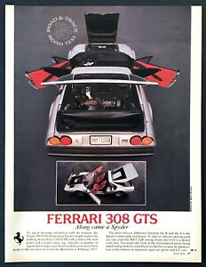1978 Ferrari 308 GTS Coupe Road Test Technical Data Review Article