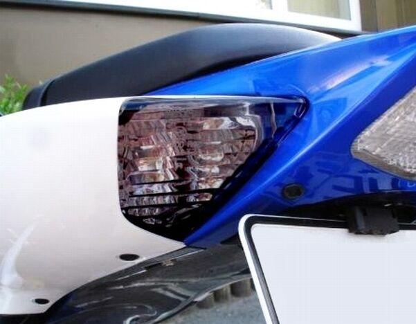 Lenses LED 08-09 GSXR 600 750 07-08 GSXR1000 Smoke Rear Turn Signal Lights
