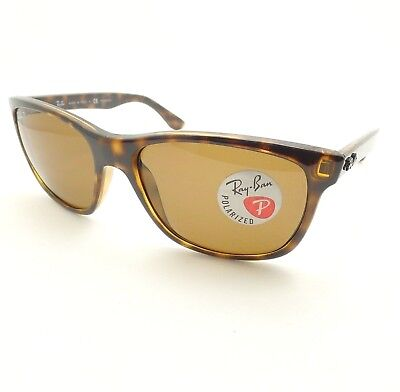 581c8eb22b3 Ray Ban RB 4181 710 83 57mm Havana Brown Polarized New Authentic Made In  Italy
