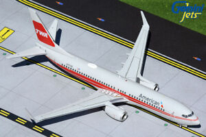 American Airlines 737-800 TWA Heritage Gemini Jets G2AAL473 Scale 1:200 IN STOCK