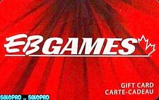 EB GAMES GAMESTOP DVD CD GAMES NINTENDO PS2 WII WIIU RED COLLECTIBLE GIFT CARD