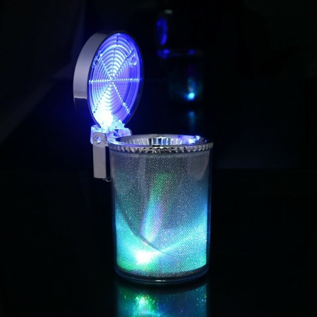 Mini LED Light Portable Car Auto Interior Home Cigarette Ashtray Smokeless  Ash for sale online | eBay