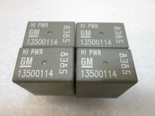4pcs GM HI POWER RELAY 13500114
