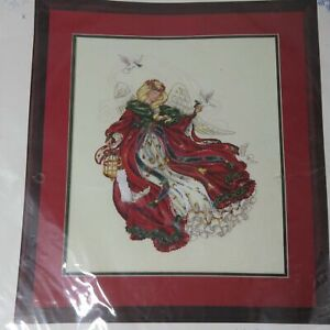Angel Of Christmas.Dimensions 1993 Angel Of Christmas Cross Stitch 8436 Kit