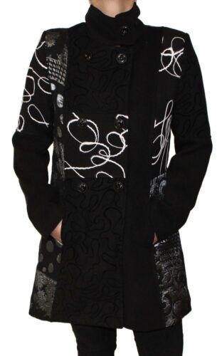 lana giacca donne delle varia modello Made cappotto S del Italia In inverno 6XL autunno di wHqy8EqI