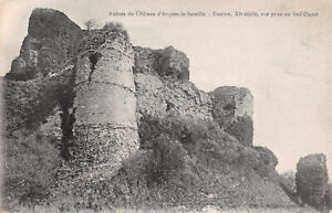 R279645 Ruines du Chateau d Arques la Bataille. Donjon. XI siecle. vue prise au