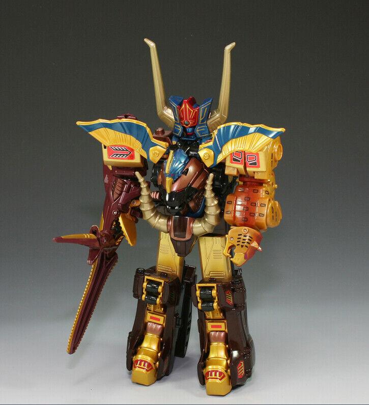 Bandai Power Power Power Rangers Gao-Ranger Wild force DX GAO GOD Animus Megazord 2010 New 1728e5