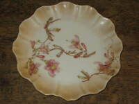 LOVELY DOULTON BURSLEM PLATE PINK FUSHIAS DESIGN ART NOUVEAU