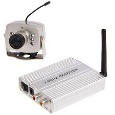 Funk Video Kamera Nachtsicht Audio mit 4 Kanal Receiver