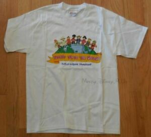 New Hanes Build A Bear Workshop Party With The Bears Tee T-Shirt Youth L 14-16