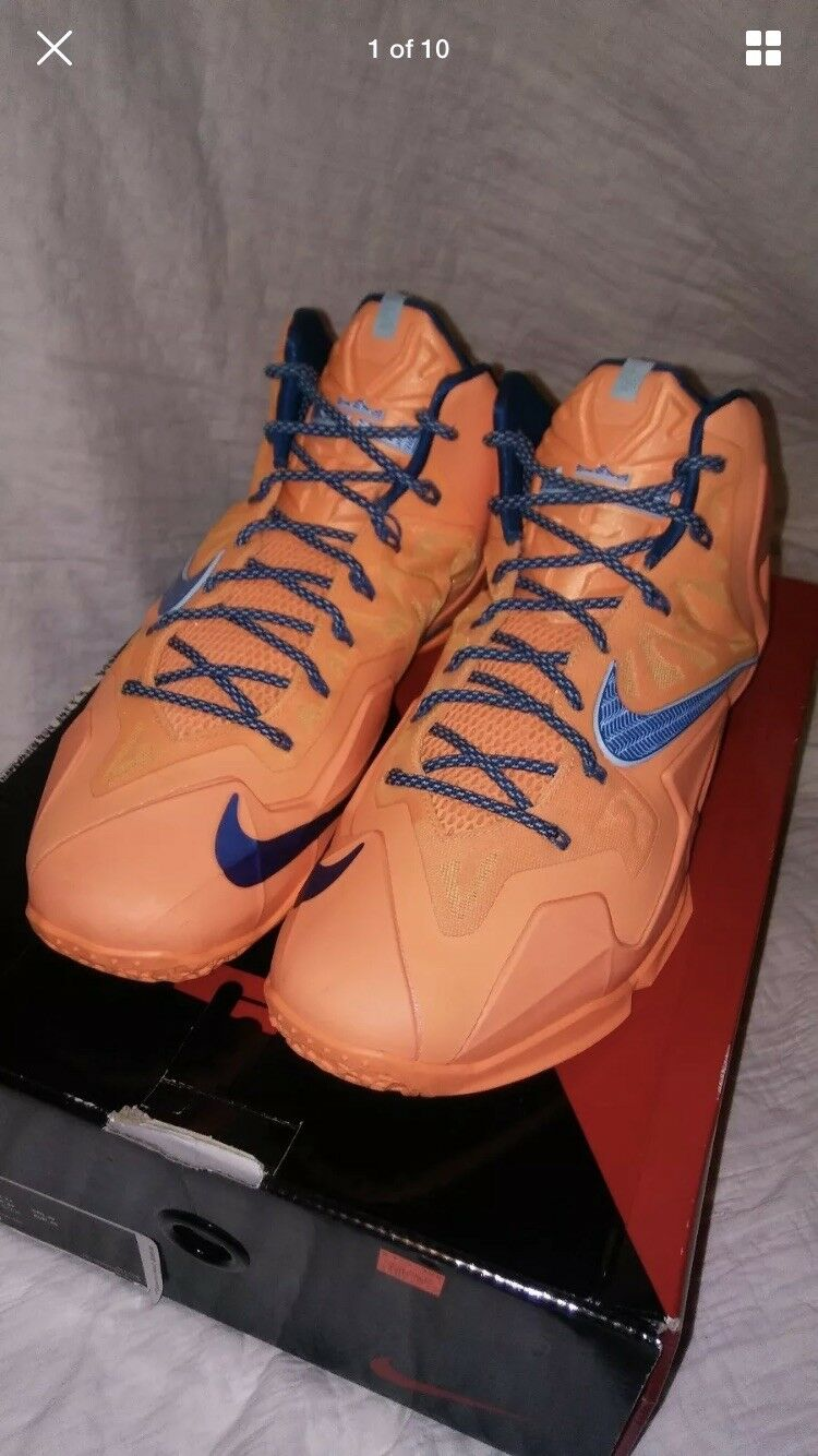 LeBron 11 11 LeBron ATOMIC ORANGE size 12 7dcb90