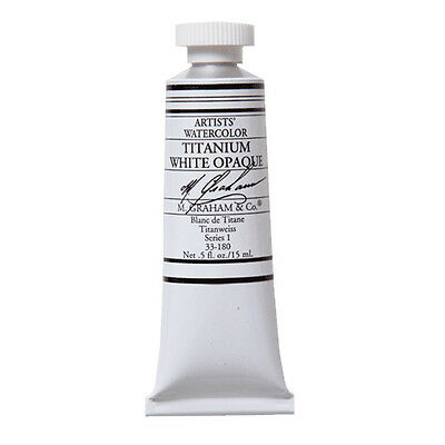 M Graham Artists Watercolour Paints Whites 15ml Tubes - Choose Colour