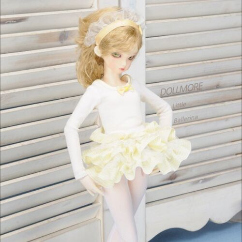 Dollmore 14 BJD MSD Gem Ballerina Dress Set YellowA6