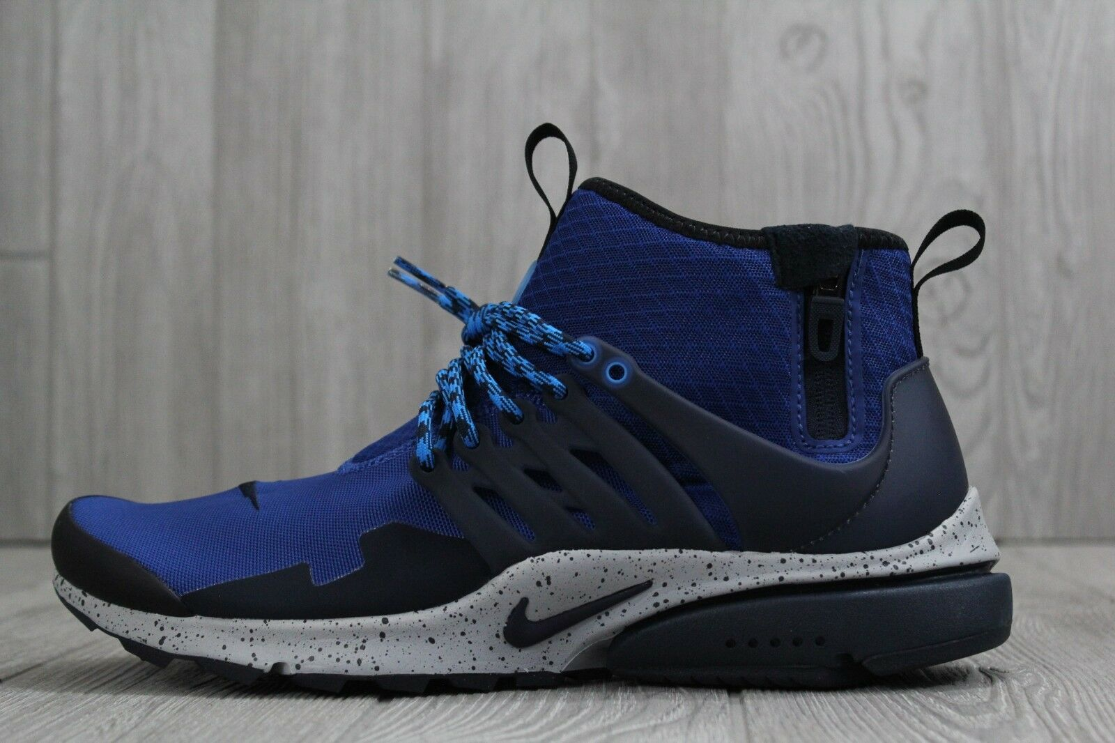 31 New Nike Air Presto Mid Utility Men's shoes Gym bluee Size 10 859524 401