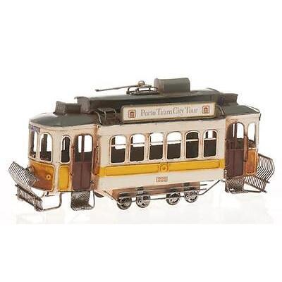 Blechzug Blechfahrzeug Blech Strassenbahn Retro Vintage Modellzug Nostalgie