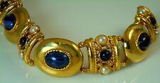 Joan Rivers Beautiful Sim Star Sapphire Bracelet