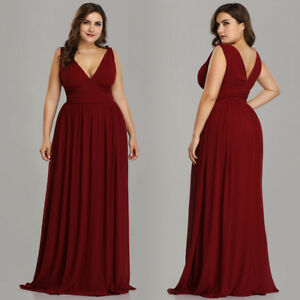 Ever-Pretty-Plus-Size-Burgundy-Chiffon-Bridesmaid-Dresses-Long-Party-Dress-09016